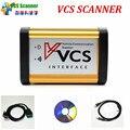 VCS de Comunicación Del Vehículo VCS Interfaz de Escáner Escáner mejor que TCS Apoyo Englsih/Ruso/Español/Francés