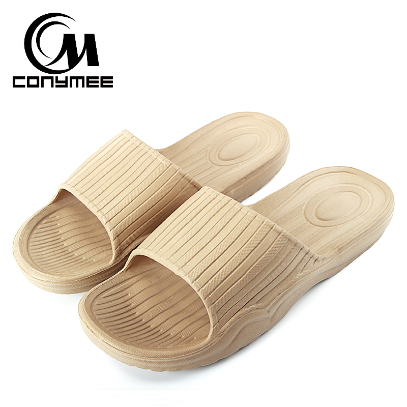 CONYMEE 2018 Summer Men Shoes Beach Sandals Fashion Male Casual Sneakers For Home Indoor Slippers Bath Sandalias Zapatos Hombre цена
