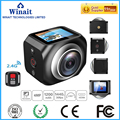 new 360 WiFi Remote Control video 220 degree ultra wide viewing lens 1.5'' TFT display hero style 190 DV H360 R360 VR360 Camera