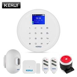 KERUI W17 WIFI GSM Antifurto Sistema di Allarme Esterna Impermeabile PIR Sensore di Movimento Senza Fili di Sicurezza Domestica di Allarme Sensore Porta
