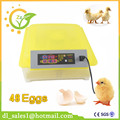 Cheap Price CE Certificate Poultry Hatchery Machines 48 Automatic Egg Turner 220v 12V Hatching Incubators For Sale