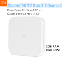 Xiaomi Mi Box 3 Enhanced Android 5 1 Set Top Box Dual Core Cortex A72 Cortex