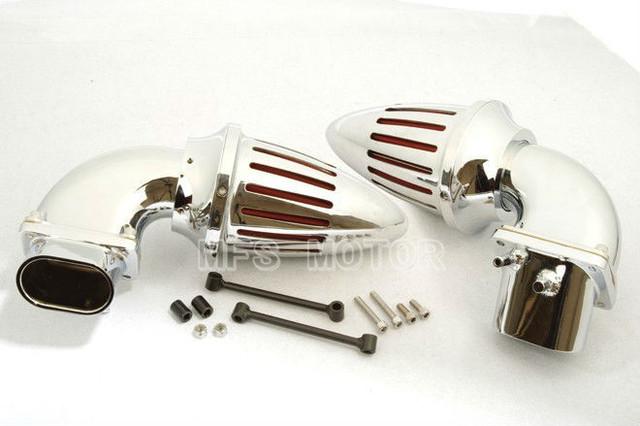 Moto peças Air kits Cleaner filtro para todo o ano para Suzuki Boulevard M109 CHROME