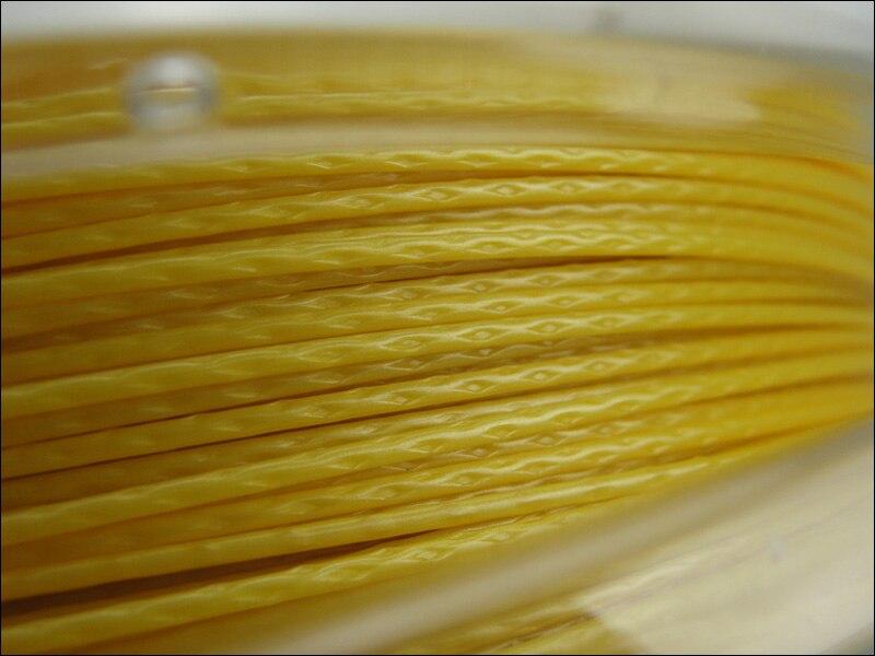 Tennis Racket Strings 125 4G ROUGH Maximum Tension Maintenace Polyester Strings 200m/reel