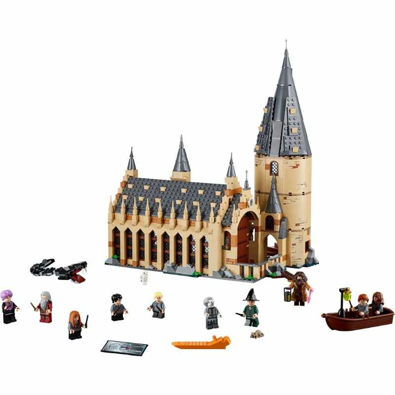 New Movie Harri Potter Castle Hall Compatible With 75951 75953 75954 75955 75956 Model Building Blocks Bricks Toys Gifts
