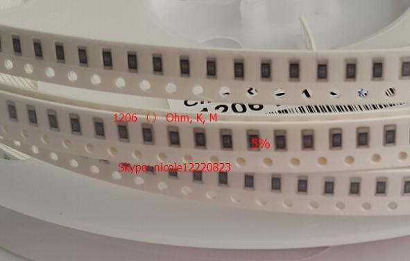 Бесплатная Доставка 100 ШТ. 1206 1.2ohm 1.2R 1206 1.2ohm SMD 5% Резистор