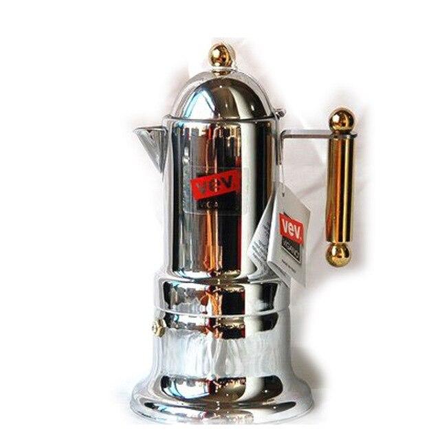 Freeshipping קלאסי איטלקי אספרסו מכונת קפה מוקה נירוסטה קנקן קפה מוקה מוקה כוס