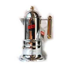 freeshipping Classic Espresso Italian Moka Coffee Pot Stainless Steel Mocha Coffee Maker moka cup