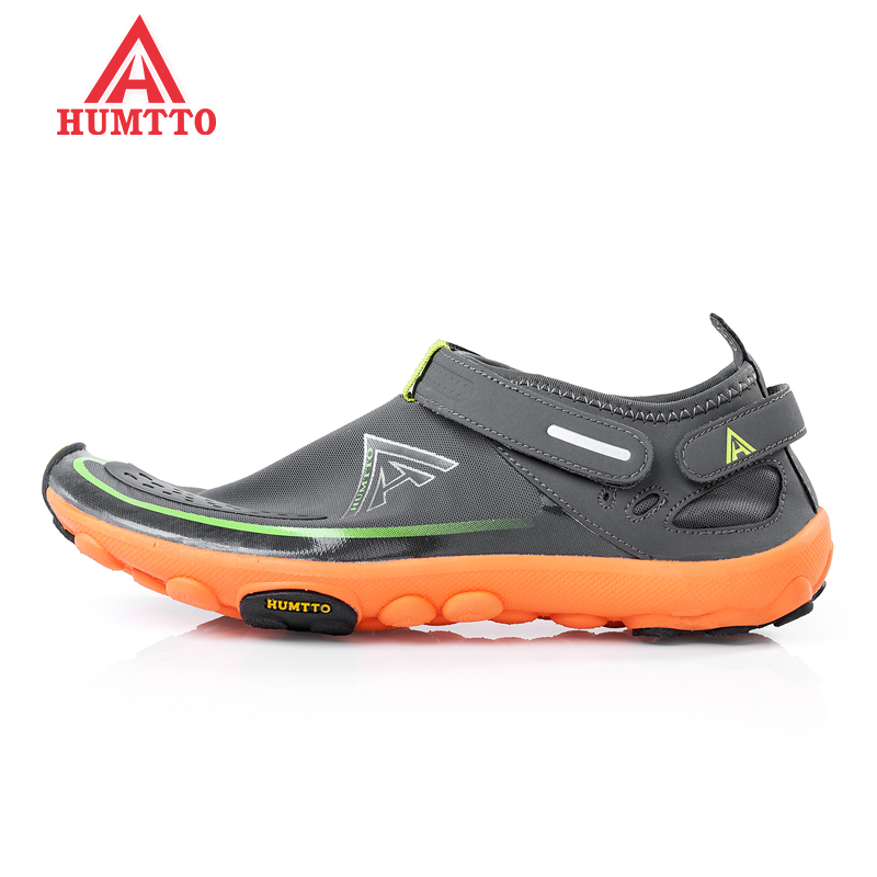 HUMTTO Men's Outdoor Hiking Trekking Barefoot Aqua Water Shoes Sneakers Footwear For Men Climbing Mountain Shoes Man Senderismo