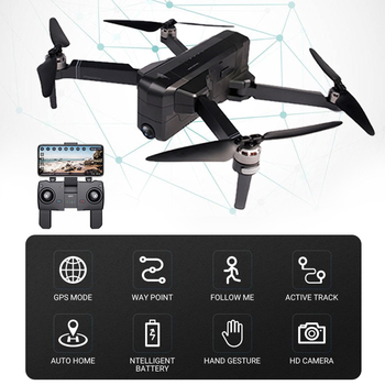 SJRC F11 PRO GPS 5G Wifi 500m FPV With 1080P 2K Wide Angle Camera 28 Mins Flight Time Brushless Foldable RC Drone Quadcopter RTF
