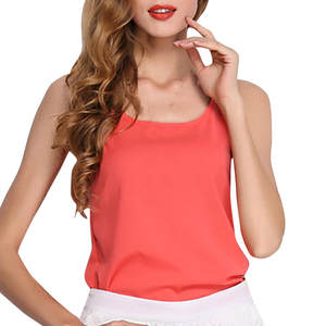 Sleeveless Crop Top Tank Top T-Shirt Blouse woman 2019