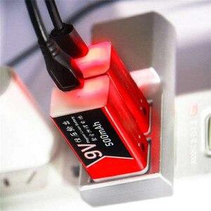 Image 4 - 20PCS USB di Ricarica 9V 500mAh Li Ion Batteria USB batteria Ricaricabile 9v al litio per Multimetro Microfono Giocattolo A distanza di Controllo KTV