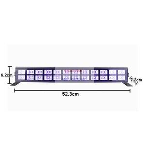 Image 3 - 24X3W Disco Lichter UV Violet Schwarz Lichter Dj Lichter Par LED Lampe Für Party Hochzeit Veranstaltungen Beleuchtung Bühne Laser Projektor lichter