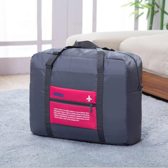 1434c8ec44a2 US $14.93 |Hot Selling Travel Fold Storage Bag Luggage Clothes Tidy  Organizer Pouch Polyester Suitcase Handbag Case portable bags-in Storage  Bags from ...