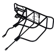 1PC Back Rear Holder Back Rear Bag Pannier Bike accessories Rack Alloy Bike Bicycle Seat Post Frame Carrier Holder New E20