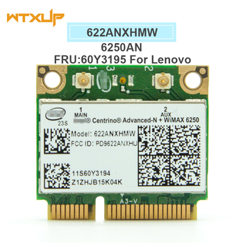 Беспроводная сетевая карта 622 ANXHMW 6250AN 300 Мбит/с WiFi адаптер для  lenovo/Thinkpad Intel Advanced-N 6250