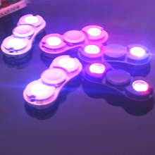 Игрушка-Непоседа металлический EDC светодиодный Спиннер для аутизма и СДВГ время вращения длинные игрушки Горячая подарки для детей/взрослых