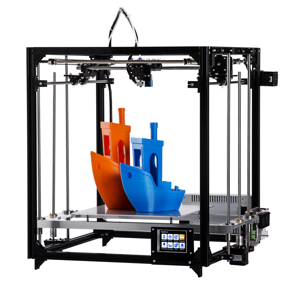 Flsun 3d Printer Ship From Germany Large Printing Size 260*260*350mm Metal Frame 3D Printer Autoleveling Heated Bed Two Filament