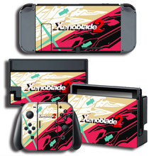 Vinyl Cover Decal Skin Sticker for Xenoblade 2Stickers For Nintendo Switch For NS Gaming Console + Controller Decal Cover Sticker