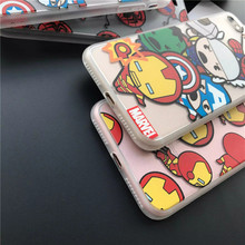 Superhero Cartoon Cases for iPhone