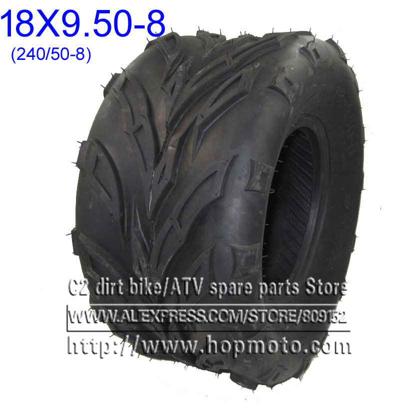 8 Inch ATV Tire 18x9.50-8 ATV Wheel Tyre Motorcycle Fit For 50cc 70cc 110cc 125cc Small ATV Front Or Rear Wheels