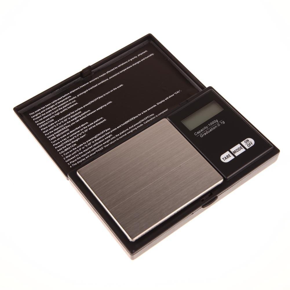 Mini precision digital scale 1000g x jewelry gold for Mini digital jewelry pocket gram scale
