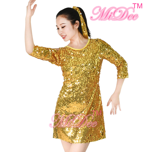 Gold Dress Costume
