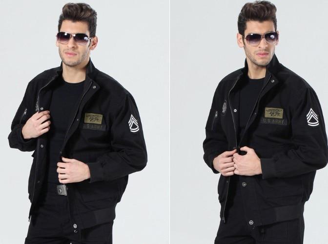 ФОТО Freedom Rider fans collar Yingtou outdoor military flight jacket men 9014 mens jacket