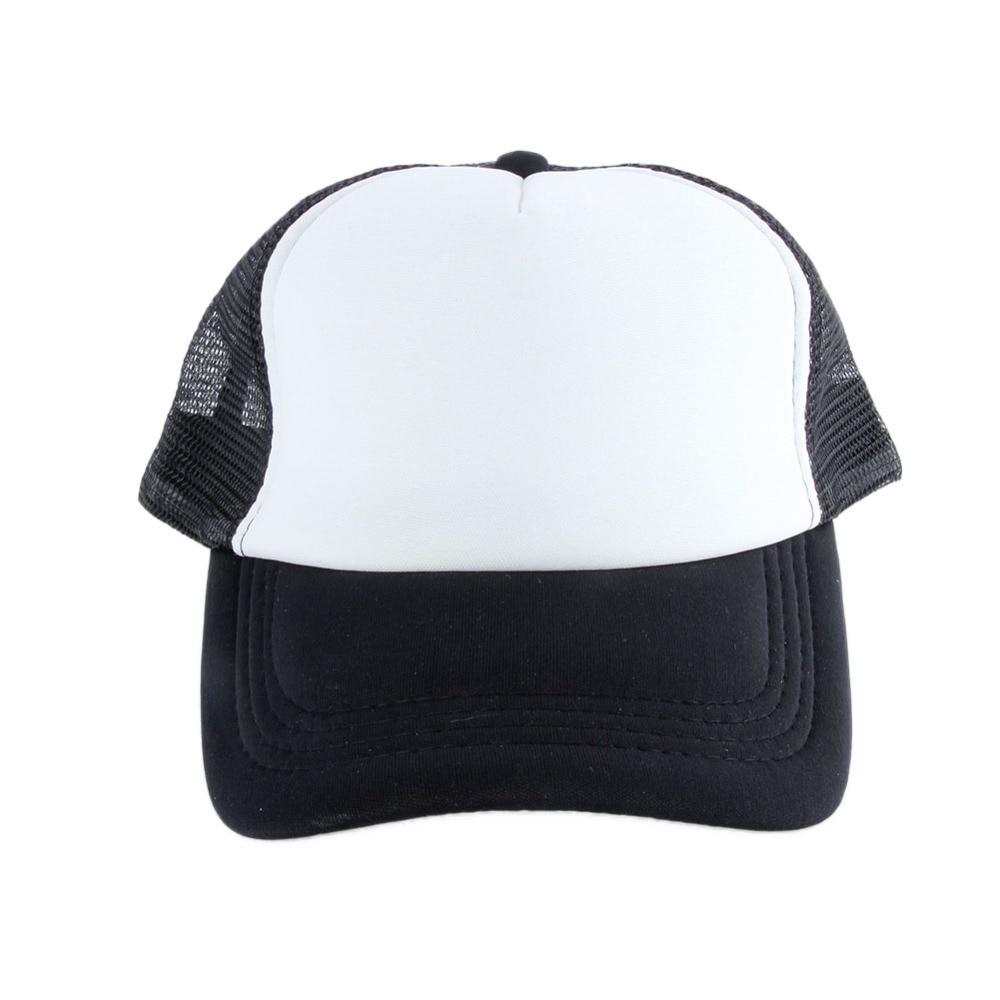 ̀ •́ 9 colores de moda en blanco Plain SnapBack sombreros de los ...