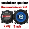 A pair top fashion real coaxial speaker car Horn car audio speaker stereo speaker 2 way 2x100W for all cars