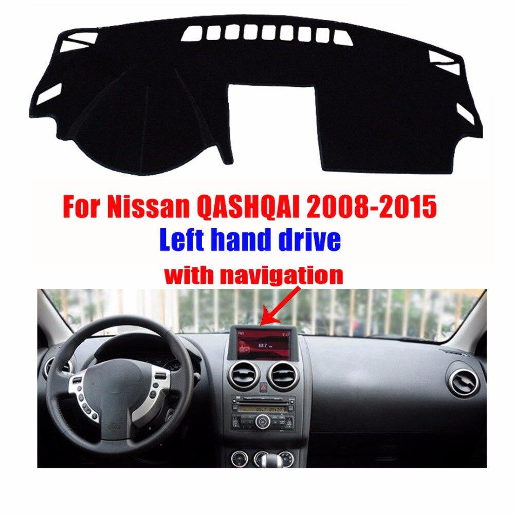 Floor mats nissan qashqai - Car Dashboard Cover Mat For Nissan Qashqai With Navigation 2008 2015 Left Hand Drive Dashmat
