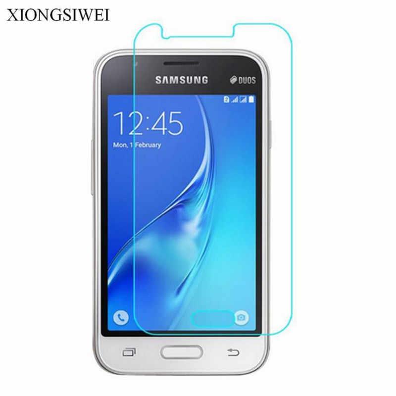Vetro temperato Per Samsung Galaxy J1 mini J105 SM-J105H DUOS Protezione Dello Schermo di caso Capa su J1MINI J105H/DS SM J105B/DS F Fundas