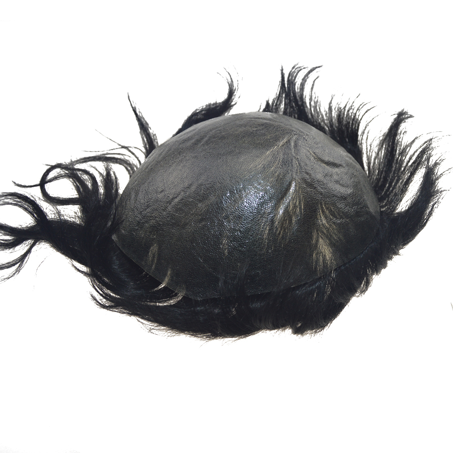 Best Quality Invisible Thin Skin Base Injected Knot Hair System Toupee