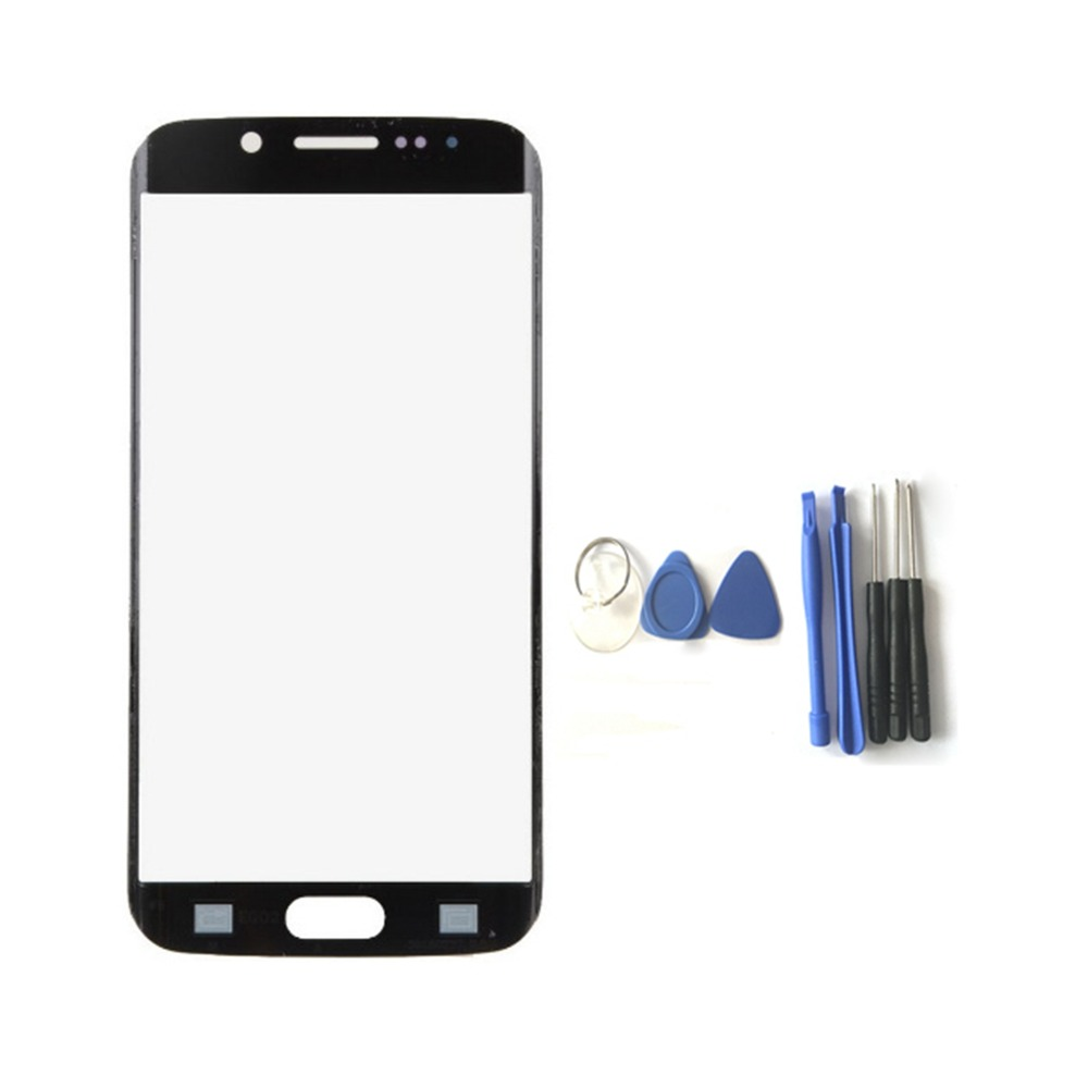 Replacement Front Outer Screen Glass Lens For Samsung Galaxy S8 S8 Plus Touch Screen Panel Digitizer+Tools Black 100% Tested New