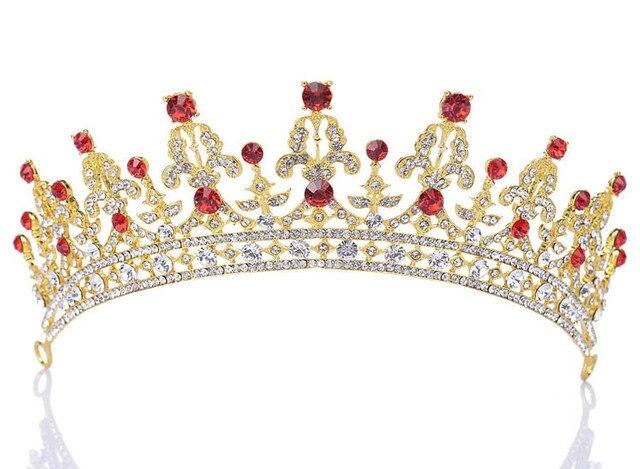 تيجان ملكية  امبراطورية فاخرة Remedios-Royal-Wedding-Tiara-Crown-Princess-Pageant-Headband-w-Rhinestones-Gold-Red.jpg_640x640