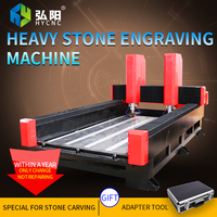 HYCNC 1325 CNC large stone engraving machine automatic marble tombstone high precision engraving machine