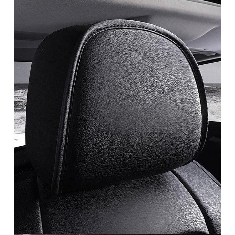 Image 3 - (Frente   traseira) tampas de assento de carro couro especial  para volvo v50 v40 c30 xc90 xc60 s80 s60 s40 v70 acessórios capas para  veículoCapas p/ assento de automóveis