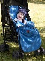 Yoyaplus Baby Stroller FootMuff Sleeping Bag Double Layers Polar Fleece Pram Foof cover Sack Carriage Warm Winter Carseat