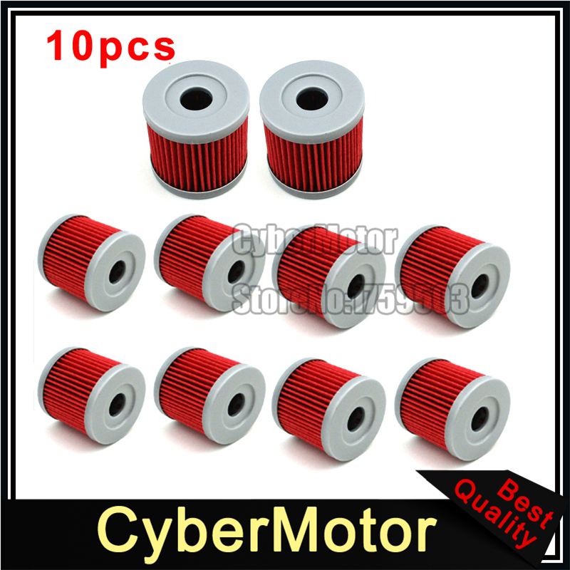 10x Oil Fuel Cleaner Filter For QM125GY K157FMI Sinnis Apache 125 125cc