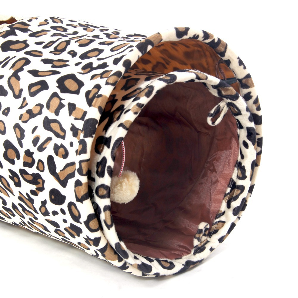 Novi tunel za kućne ljubimce Bulk Cat Toys Cat Tunel Leopard Print - Kućni ljubimci - Foto 4
