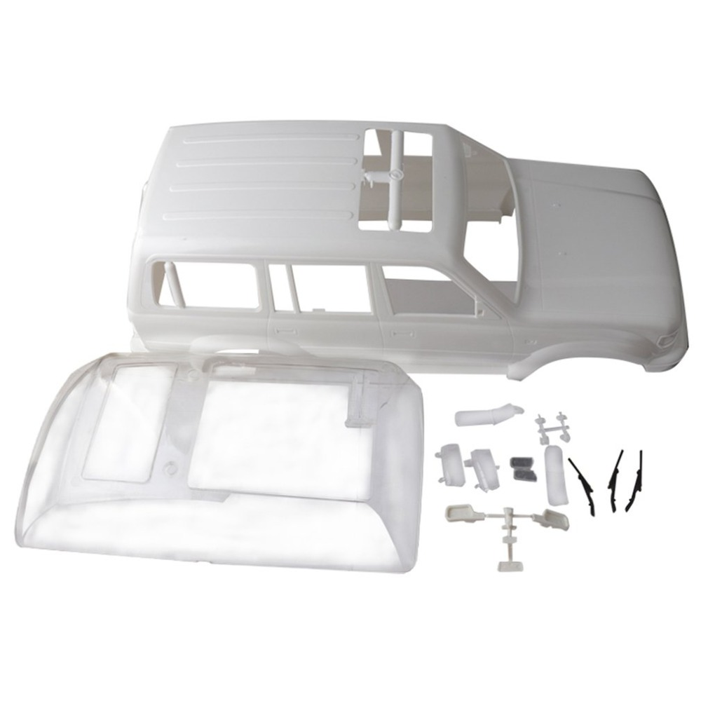 1/10 Land Cruiser LC80 HARD Plastic Body Shell 313mm Wheelbase For Axial SCX10 Rc Crawler Truck HOT! new lc80 hard bodies body for rc crawler sale axial scx10 wheelbase 313mm