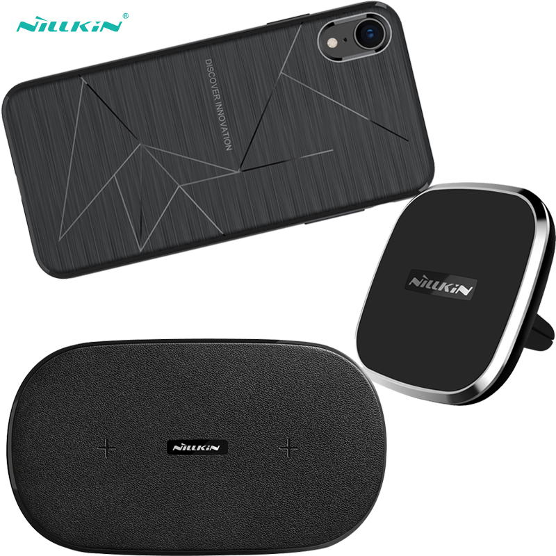 Nillkin For iPhone XR Wireless Charger Gemini Dual Fast