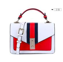Angelatracy 2019 New Arrival England Panelled Simple Lock High Quality All Match Womens Handbags Flap Shoulder Crossbody Bags