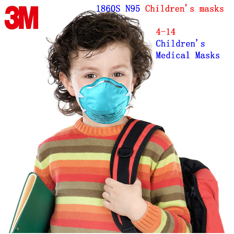 3M 1860S N95 respirator mask respirator mask 3M filter mask against 4-14 year old child anti-virus Anti-dust particles dust mask 3m 9332 ffp3 respirator dust mask folding cold flow valve respirator mask for particles dust flu virus n99 filter mask