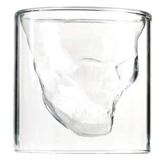Creative Party 75 ml Clair En Verre Crystal Skull Head Vodka Vin ...