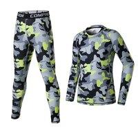 2018 Kids Men compression running pants shirts sets sports survetement football soccer training tights basketball leggings suits