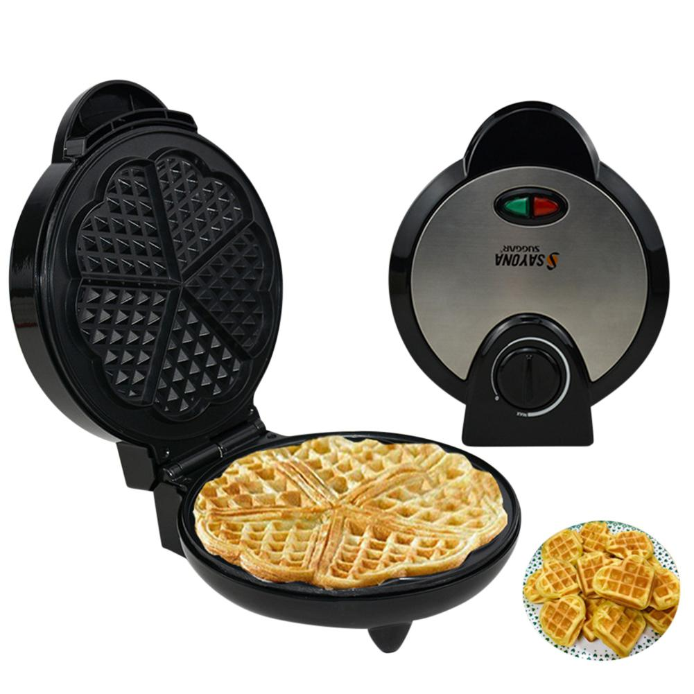 Adoolla Home Waffle Machine Electric Baking Pan Cake Breakfast Toaster