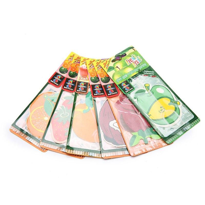 7Pcs Car Air Freshener Perfume Scent Hanging Paper Fragrance For Car Perfume For Home Air Freshener Flavoring For Car