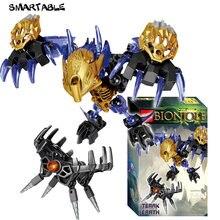 Smartable bionicle 74 шт terak creature of earth фигурки строительный