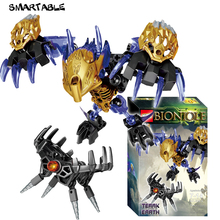 Smartable BIONICLE 74pcs Terak Creature of Earth Figures Building Block Toy For Boy Compatible All Brands